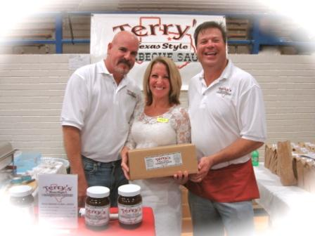Bill, Jenny, and Craig at the 2011 LD Bell Craft Show